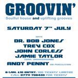 Jamie Taylor (Soul Underground) Groovin at The Blue Room