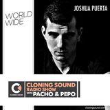 Joshua Puerta on Cloning Sound radio show with Pacho & Pepo :: 133