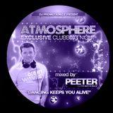 Dj Peeter - ATMOSPHERE excluisve clubbing night CD