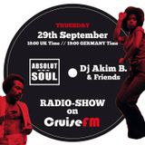 Absolut Soul Show /// 29.09.2015 on cruiseFM