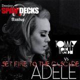 Set Fire To The Cascade - Tommy Trash Vs Adele (Deejay Span-Decks Mashup)