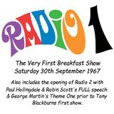 The Most Complete Version of the 1st Radio 1 breakfast show - 30-9-67.