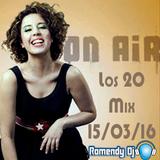 Los 20 Más Mix (Marzo 15 - 2016)