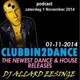 Allard Eesinge - Clubbin2Dance (01-11-2014)