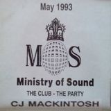 CJ Mackintosh @ Ministry Of Sound, London (UK) - 05.1993