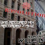 LIve DJ Mix - Revolution Bar, Leadenhall - London, 7-9-12