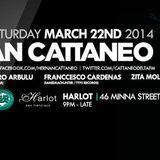 Franccesco Cardenas a.k.a. Sanedrac of SanedracHunter - SET at Harlot SF 3/22/14 for Hernan Cataneo