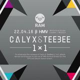 Calyx & Teebee (RAM Records) @ 1x1 Album Launch Event, HMV 363 Oxford Street - London (22.04.2016)