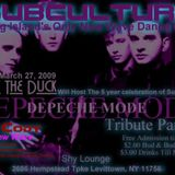 """(3/27/09) SUBCULTURE - 5th Anniversary Party at """"SHY Lounge"""" Hosted by: Larry The Duck"""