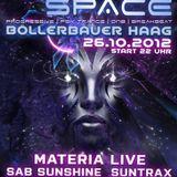 De La Cruz @ Gate To Space 26.10.2012