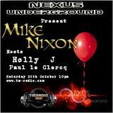 Nexus Guest Mix - Mike Nixon - October 2017