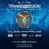 The Thrillseekers - @ The Spirit Of The Warrior, Transmission Bangkok, Thailand (2018-03-17)
