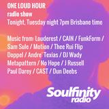 Louderest, One Loud Hour on Soulfinity Radio 2017 10 10