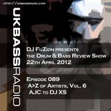 Ep. 089 - A>Z of Drum & Bass Artists, Vol. 6