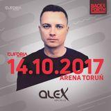 DJ ALEX live at EUFORIA FESTIVALS - BACK & FORTH 3.0 (Poland, Toruń 2017-10-14)