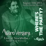 Alvaro Vergara Live at Stockholm (Axwell Where's The Party Warmup)