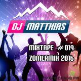 Mixtape #019 [Zomermix 2016] (18/06/2016 - Enschede FM)