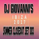 DJ GIOVANNI - G HOUSE (IBIZA SUMMER CLOSEOUT SET) #003