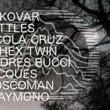 Campo eléctrico //Vukovar+ Aphex Twin+ Jacques+ Playmono+ Nicola Cruz+ Andres Bucci+Battles+Moscoman