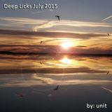 Deep Licks July 2015