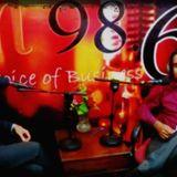 """Qasim Ali Shah Radio Program """"Manzil Ka Musafir"""" at FM 98.6 with Imran Saleem"""