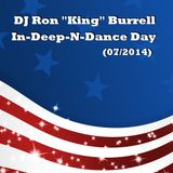 DJ Ron King Burrell - IN-Deep-n-Dance-Day Mix (07/2015)