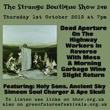 The Strange Boutique Show 246
