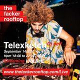 Telexketch on fire! (DJ set) 14.09.2014 at The Facker Rooftop