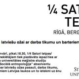 ArtekoRadio ieraksts: RSU Antropologi@1/4Satori Birojnīca 09/01/2012