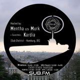 Mentha b2b Murk + Kardia Guestmix - Subaltern Radio 18/01/2018 on SUB.FM