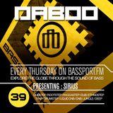 BASS TREK 39 with DJ Daboo on bassport.FM (Presenting: SIRIUS)