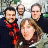 Funkhaus Prenzlauer Berg mit Syria on the Move, Conrad Menzel und Jenz Steiner