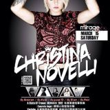 Shoyan In Mirage 3/15 (六) Christina Novellir 亞洲巡迴派對 Set