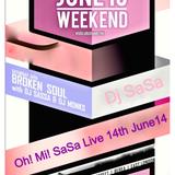 Oh Mi! SaSa Live Mix 14 June 14