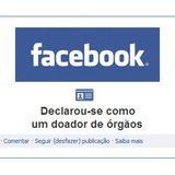 Usuários do Facebook já podem colocar no perfil que são doadores de órgãos