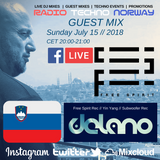 DELANO Guest mix @ Radio Techno Norway July 15th 2018