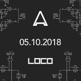 David Perez @ Aparty (Loco Club) - 05-10-2018