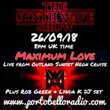 The Synth Wave Show 40 with MAXIMUM LOVE