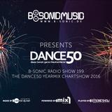 B-SONIC RADIO SHOW #199 - German Dance50 Yearmix Chartshow 2016