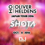 SHOTA (from DJ HACKs) @ OLIVER HELDENS JAPAN TOUR 2016