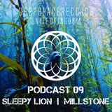 DEEP SPACE RECORDS PODCAST NUMBER 9 FT SLEEPY LION + MILLSTONE JUNE 2014