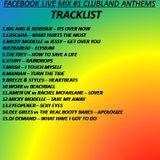 Dj Ricky J Facebook Live Mix #1 clubland