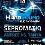 Second Element & Luckes - Hard Sound Crecer b.day bash (18.1.2013)