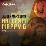 Hallex M Feat. Nappy G (Live) at Calle Ocho Cafe Cubano (March 7th)