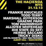 Frankie Knuckles live @ Hacienda NYE At The Albert Hall ( Manchester,UK) 31/ 12 /2003