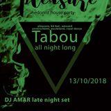 Amar @ Pleasure - Late Night Set