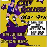 Tragic City Rollers (Birmingham, AL) vs. Red Stick Roller Derby (Baton Rouge, LA)