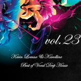 Kevin Lomax & Karolline - Best of Deep Vocal House vol.23