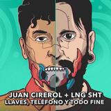 Juan Cirerol y LNGSHT en el programa sin nombre