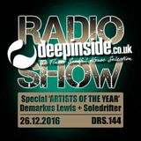 DEEPINSIDE RADIO SHOW 144 Special 'ARTISTS OF THE YEAR 2016'